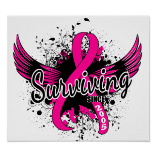 Breast Cancer Surviving Since 2005 Poster