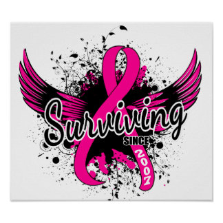 Breast Cancer Surviving Since 2007 Poster