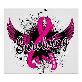 Breast Cancer Surviving Since 2009 Posters