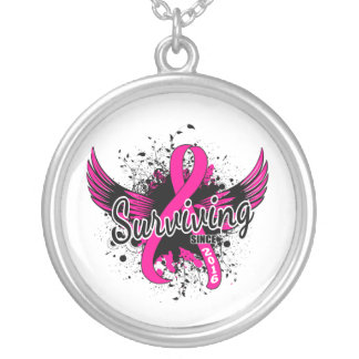 Breast Cancer Surviving Since 2016 Pendant