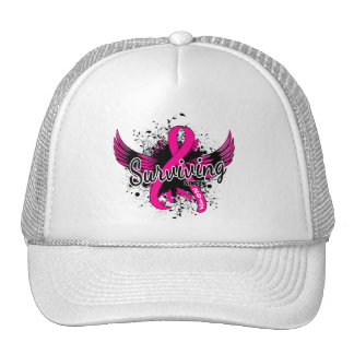 Breast Cancer Surviving Since 2017 Trucker Hats