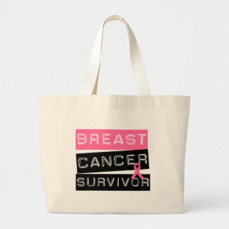 Breast Cancer Survivor Canvas Bags
