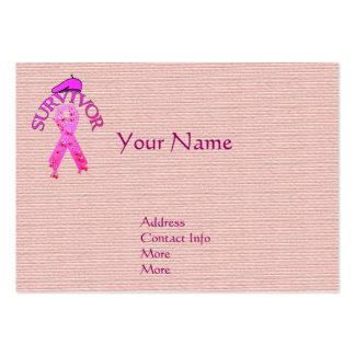 Breast Cancer Survivor Business Card Templates