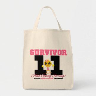 Breast Cancer Survivor Chick 11 Years Bag