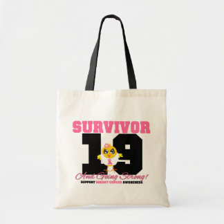 Breast Cancer Survivor Chick 19 Years Bags