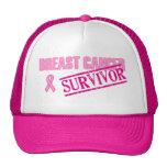 Breast Cancer Survivor Hats