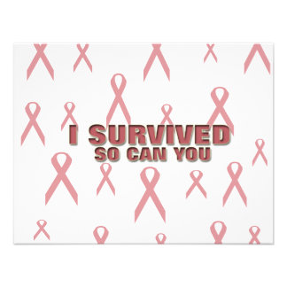 Breast Cancer Survivor Personalized Announcement