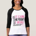 Breast Cancer Survivor It Came We Fought I Won