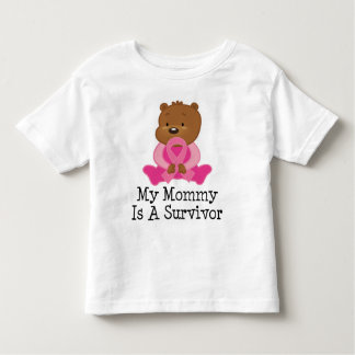 Breast Cancer Survivor Mommy Toddler T-Shirt