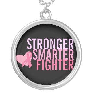 Breast Cancer Survivor Sterling Silver Necklace