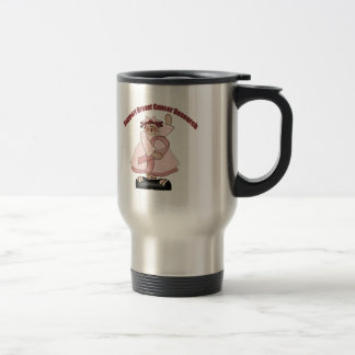 Breast Cancer T-shirts and Gifts For Her 15 Oz Stainless Steel Travel Mug