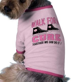 breast cancer t shirts for dog ringer dog shirt