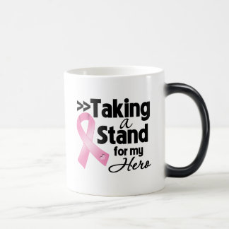 Breast Cancer Taking a Stand For My Hero Mug