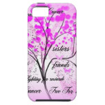 breast cancer tree for life iPhone 5 cases