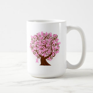 Breast Cancer  Tree of Ribbons Coffee Mug