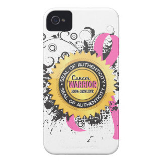 Breast Cancer Warrior 23 Case-Mate iPhone 4 Cases