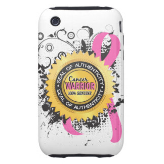 Breast Cancer Warrior 23 Tough iPhone 3 Case