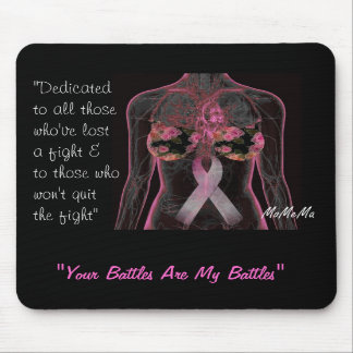 Breast Cancer Warrior Mousepads