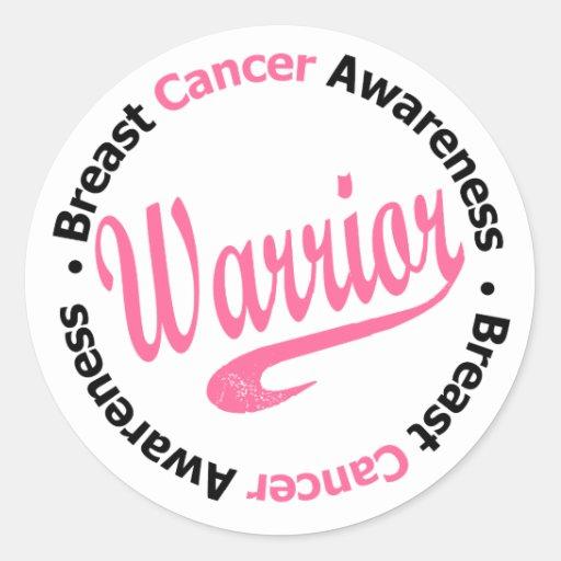Breast Cancer Warrior Stickers