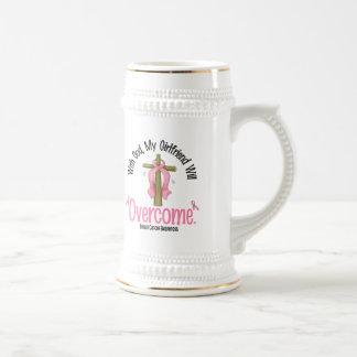Breast Cancer With God My Girlfriend Will Overcome Mug