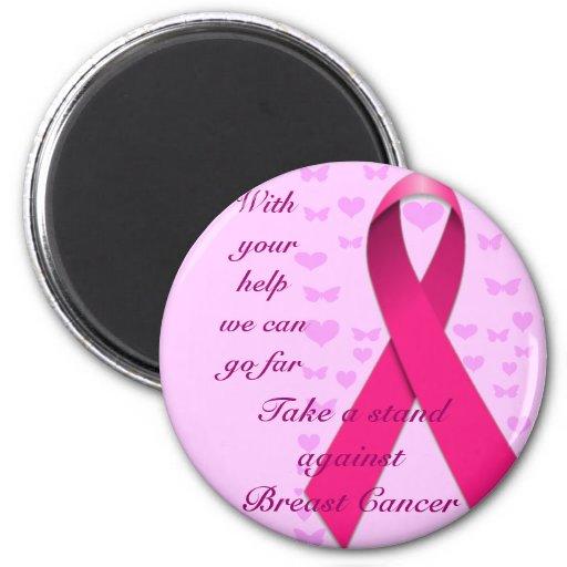 Breast Caner Awareness_ Fridge Magnet