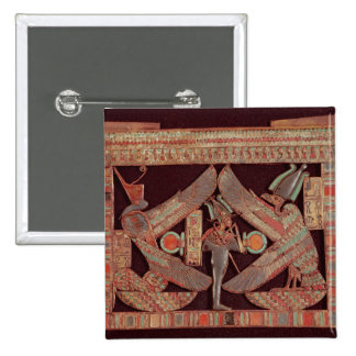 Breast plate depicting Osiris, god of 15 Cm Square Badge