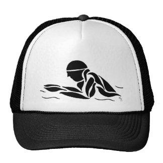 Breast Stroke Mesh Hats