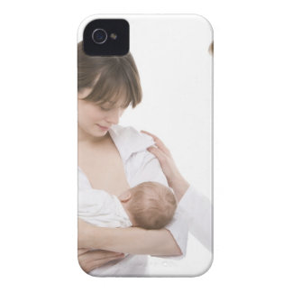 Breastfeeding advice from a doctor iPhone 4 Case-Mate cases