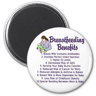 Breastfeeding Benefits Magnet