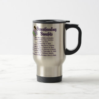 Breastfeeding Benefits Travel Mug