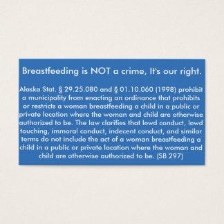 Breastfeeding Card Alaska