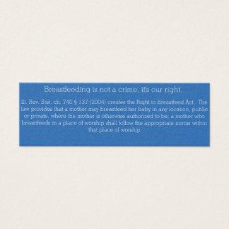 Breastfeeding Card Illinois