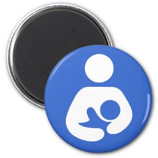 Breastfeeding International Symbol 6 Cm Round Magnet