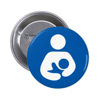 Breastfeeding / Nursing Icon 6 Cm Round Badge