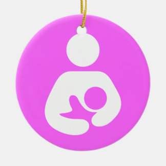 Breastfeeding / Nursing Icon Christmas Ornament