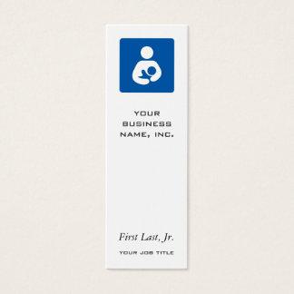 Breastfeeding / Nursing Icon Mini Business Card