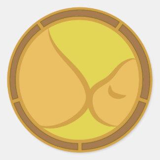 Breastfeeding Symbol Classic Round Sticker