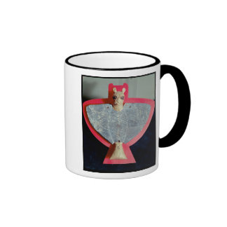 Breastplate in the form of a lion-headed eagle coffee mug