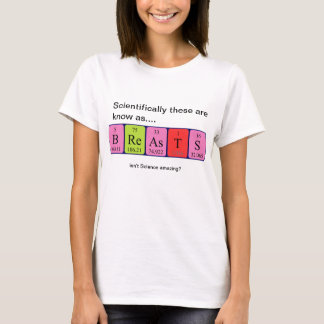 Breasts amazing science shirt