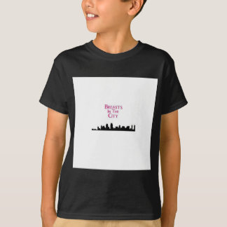 Breasts in the City-Skyline T-Shirt