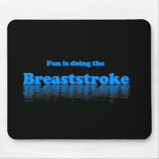 Breaststroke Mouse Pad
