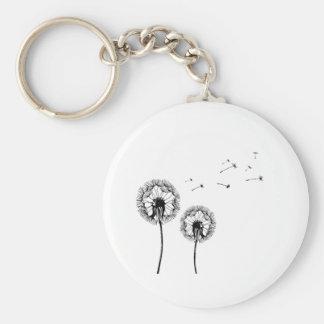 Breath flower key ring