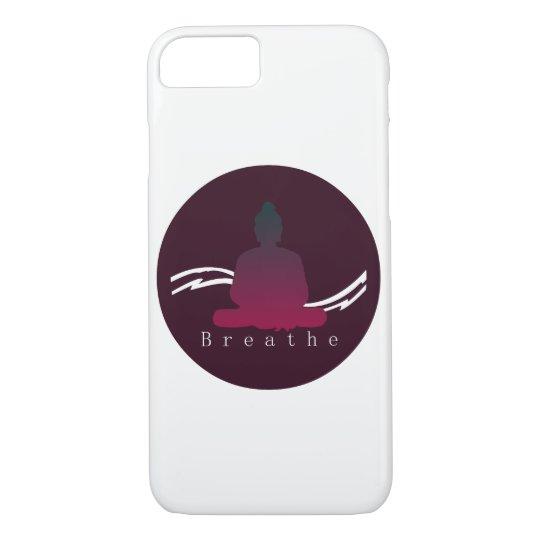 """Breathe"" Beautiful Buddha Iphone case. iPhone 8/7 Case"