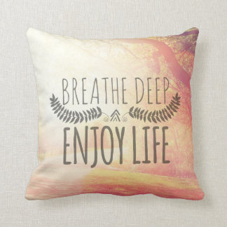 Breathe Deep Cushion