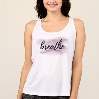 *~* Breathe Easily With This Watercolor Purple Tank Top