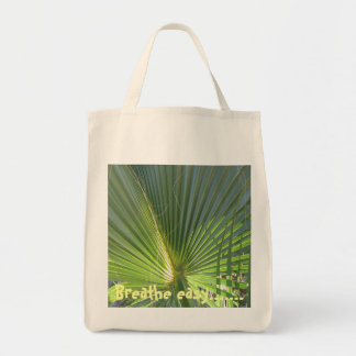 Breathe Easy Shopping Tote Grocery Tote Bag