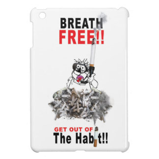 Breathe Free - STOP SMOKING Cover For The iPad Mini