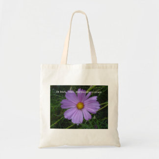 Breathe in Peace Budget Tote Bag