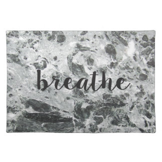 Breathe marble placemat