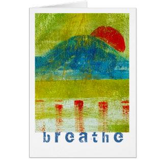 Breathe Note Card